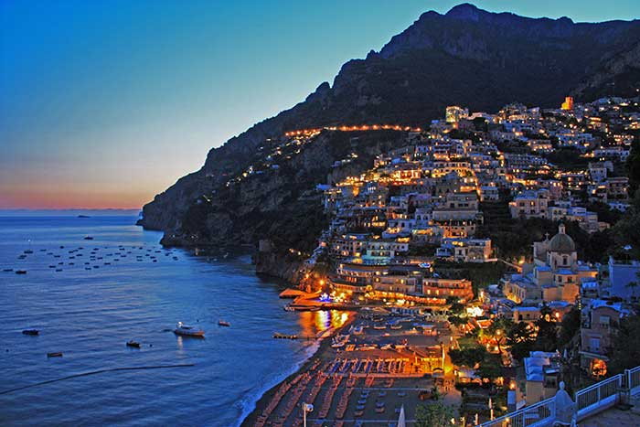 Positano villas rental